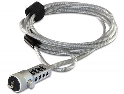 Cablu anti furt pentru laptop cu cifru, Delock 20643