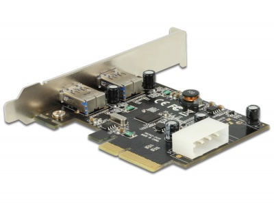 Imagine PCI Express cu 2 x USB 3.1 Gen 2, Delock 89398