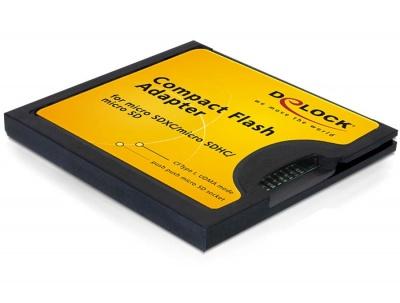 Adaptor Compact Flash la Micro SD, Delock 61795