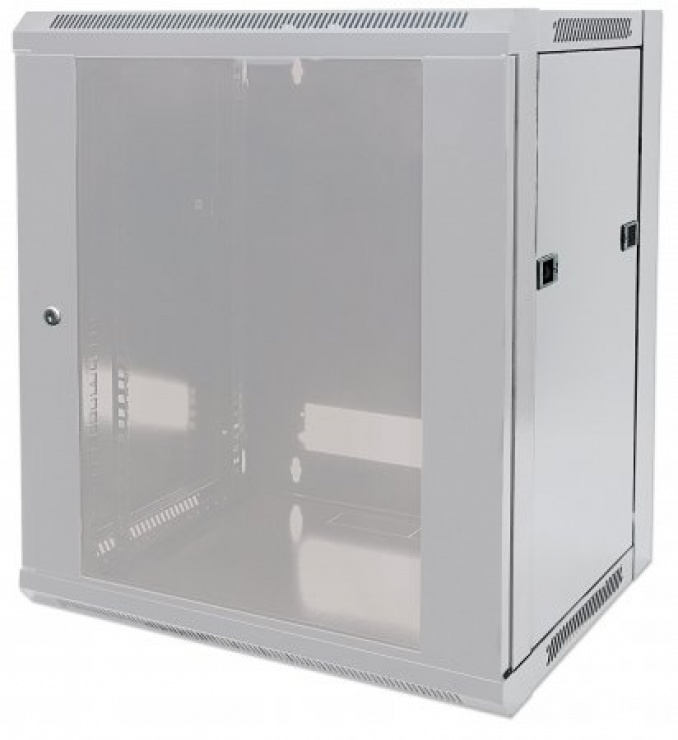 "Imagine Cabinet 19""  fixare pe perete Flatpack 12U Grey, Intellinet 711876"