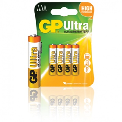 Imagine Baterie 4x LR3 AAA Ultra Alkaline, Blister, GP BATTERIES