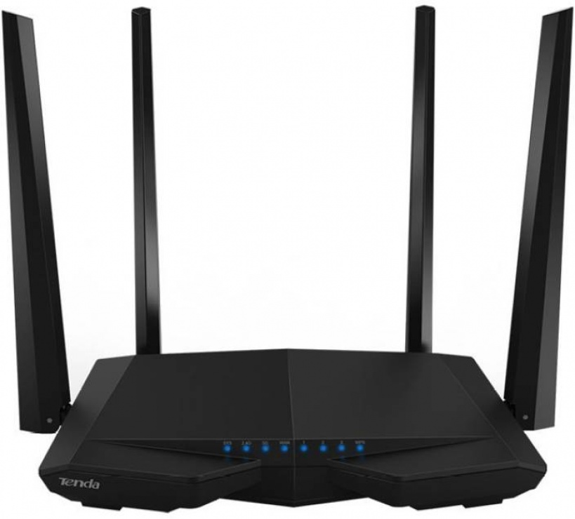 Router wireless 3 porturi AC 1200Mbps Dual-Band, 4 antene, TENDA AC6