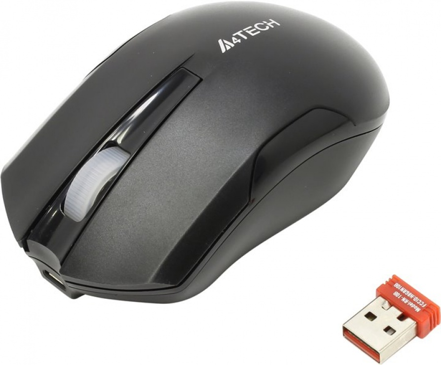 Imagine Mouse G11 Wireless V-track Padless Negru, A4Tech G11-200N