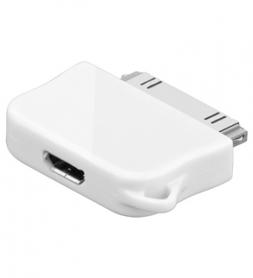 Imagine Adaptor micro USB la IPhone 4/4s M-T, Goobay 43043
