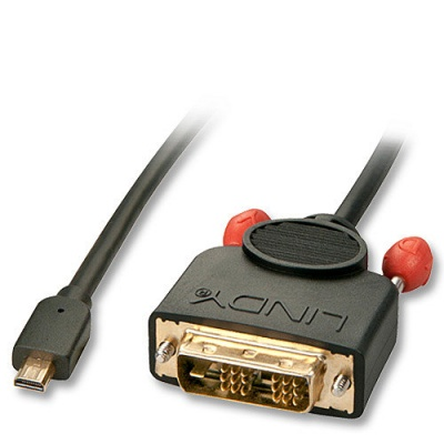 Imagine Cablu Micro HDMI la DVI-D 3m, Lindy L41153