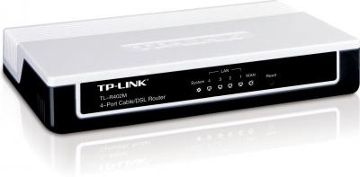 Router cablu/DSL cu 4 porturi, TP-Link TL-R402M