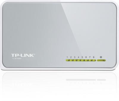 Switch Tp-Link 8 porturi, 10/100 Mbps, TL-SF1008D