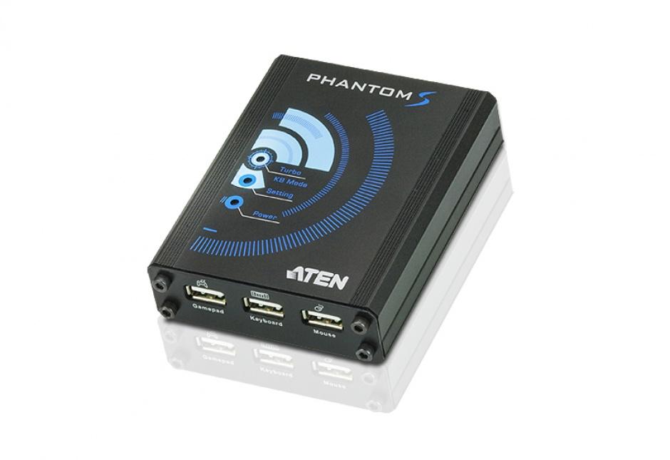 Emulator gaming PHANTOM-S pentru PS4 / PS3/ Xbox 360/ Xbox One, Aten UC3410