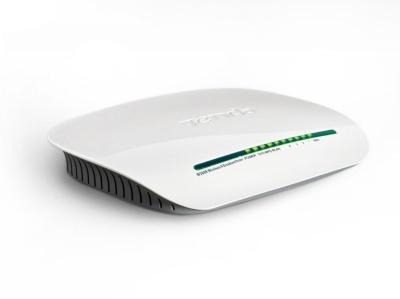 Router 4 porturi Wireless N 300Mbps, antena interna, Tenda W368R
