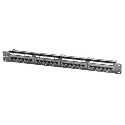 Imagine Patch Panel UTP Cat.5e, 24 porturi, negru, Roline 26.11.0349