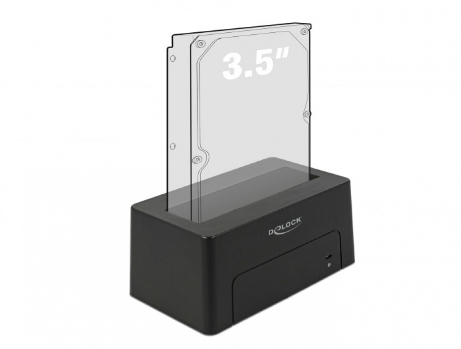 Imagine Docking Station USB 3.1-C pentru HDD/SSD SATA, Delock 63958-3