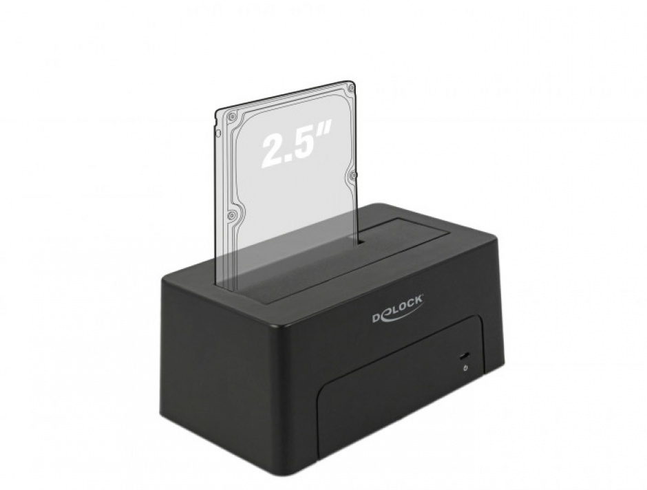 Imagine Docking Station USB 3.1-C pentru HDD/SSD SATA, Delock 63958-4