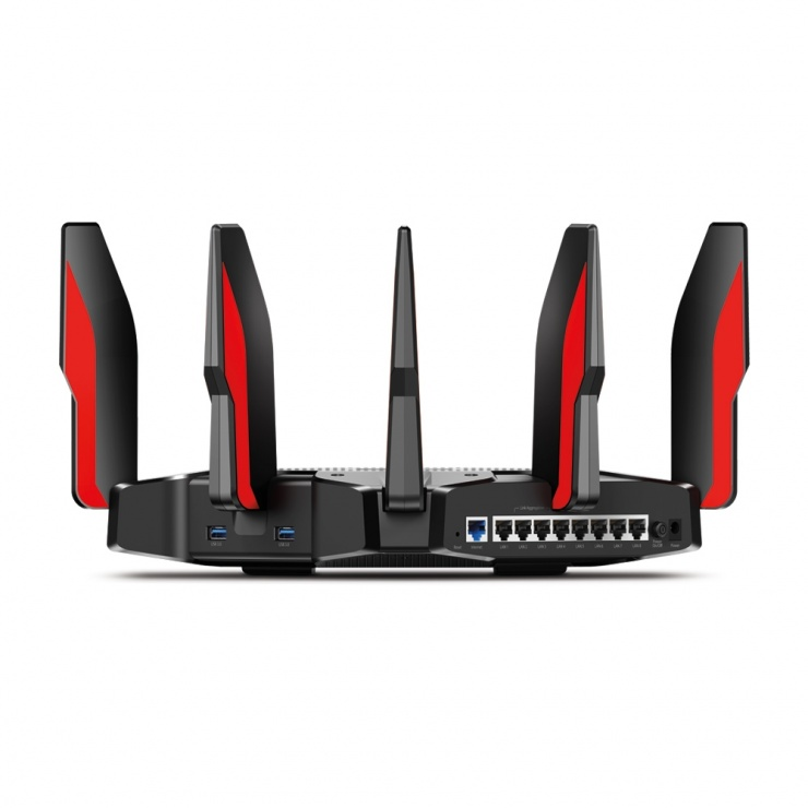Imagine Router Gaming MU-MIMO Tri-Band, TP-LINK Archer C5400X-2