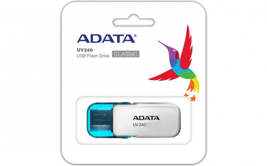 Imagine Stick USB 2.0 16GB ADATA UV240 White-2