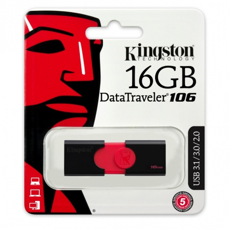 Imagine Stick USB 3.1 16GB KINGSTON Data Traveler DT106-1