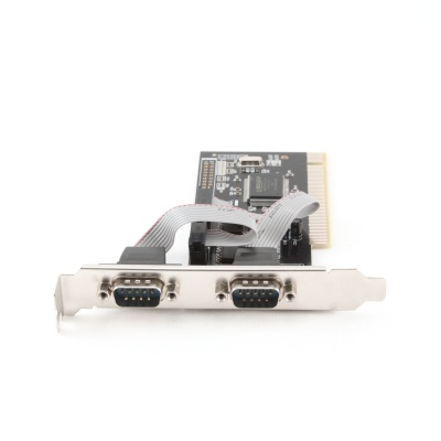 Imagine Placa PCI la 2 porturi serial RS232, Gembird SPC-1
