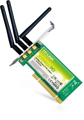 Placa Retea Wireless PCI, TP-LINK TL-WN951N