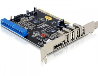 Placa PCI USB 2.0/eSATA/IDE, Delock 89140