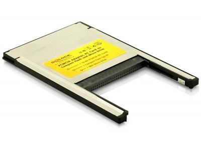 Card reader PCMCIA la Compact Flash, Delock 91052