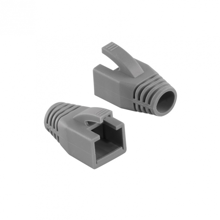 Manson cablu retea diametru max 8mm gri, Logilink MP0035