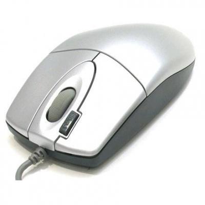 Mouse OPTIC PS2 A4TECH OP-620D-S Silver