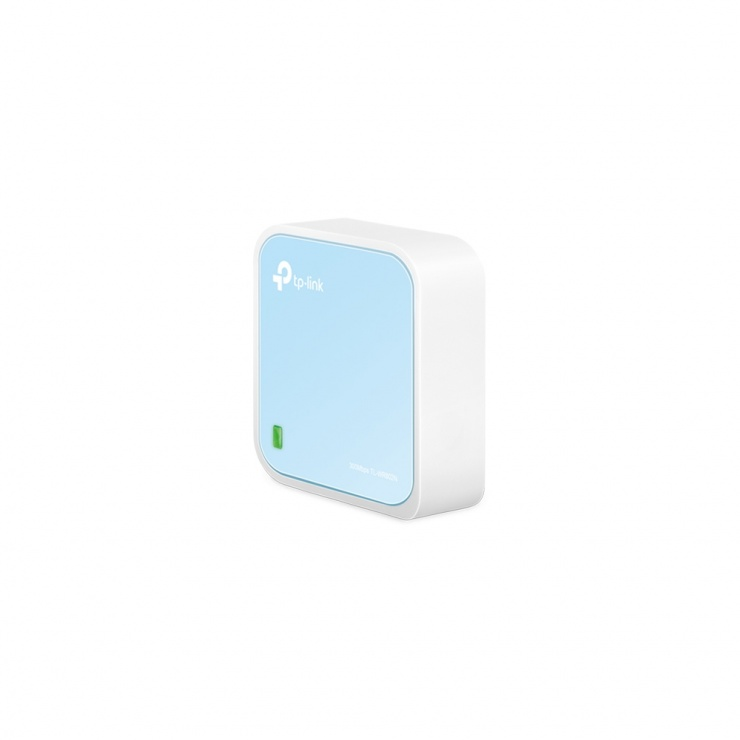 Router portabil wireless nano 300Mbps, TP-LINK TL-WR802N