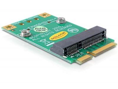 Adaptor Mini PCI Express half-size la full-size, Delock 65229