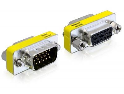 Adaptor 15T-15M (VGA), Delock 65250