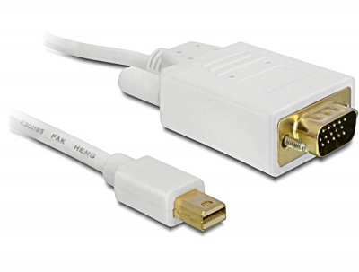 Cablu mini DisplayPort la VGA T-T 1m, Delock 82639