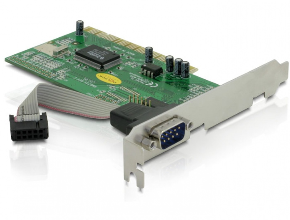Placa PCI cu 1 port Serial RS232, Delock 89056