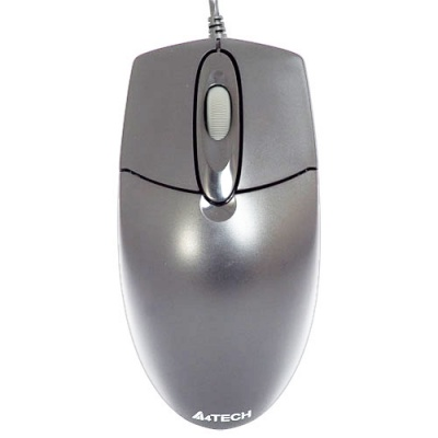 Mouse Optic PS/2 A4TECH OP-720-S Silver