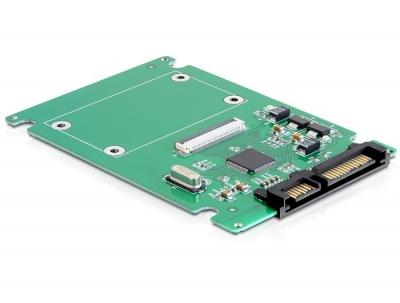 Convertor SATA 22 Pini la ZIF SSD, Delock 61861