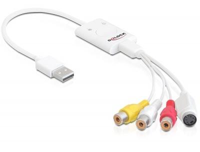 Stick USB Nano pentru captura video-audio, Delock 61894