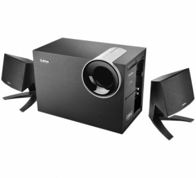 Boxe 2.1 Edifier M1380 28W telecomanda pe fir, black