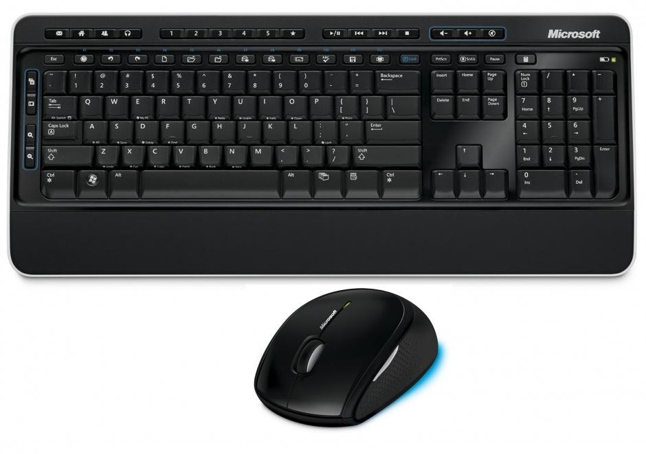 Kit tastatura + mouse Microsoft Wireless Desktop Media 2000, M7J-00015