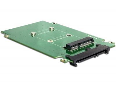 Adaptor SATA 22pini la mSATA cu frame 2.5