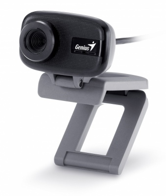 Camera Web cu microfon GENIUS FaceCam 321, 0.3MP, clema