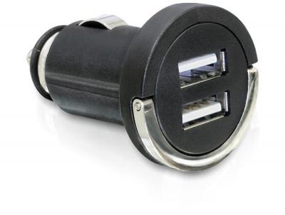 Incarcator auto 2 x USB 2A, Delock 61958