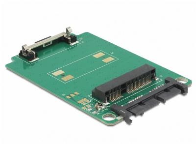 Adaptor Micro SATA 16pini la mSATA full size, Delock 62520
