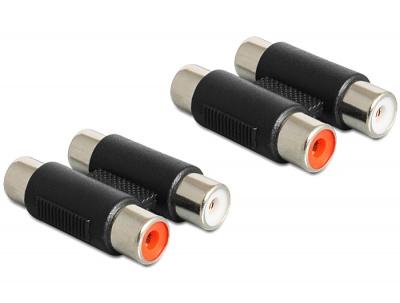 Adaptor 2 x RCA M - M, Delock 84439