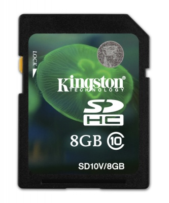 Card de memorie Kingston SDHC 8GB class10