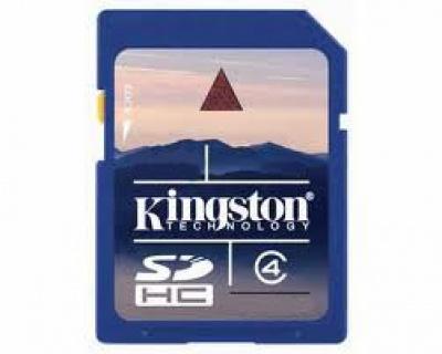 Card memorie Kingston SDHC 4GB class 4, SD4/4GB