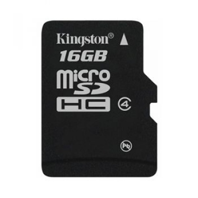 Card de memorie micro SDHC 16GB class 4 KINGSTON