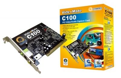Placa de captura COMPRO VideoMate C100, PCI