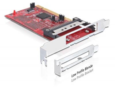 PCI Card la 1 x PCMCIA CardBus, Delock 89322