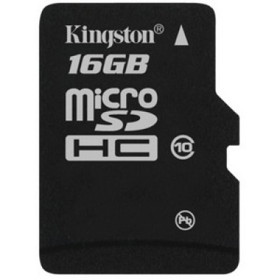 Card de memorie micro SDHC 16GB class10, KINGSTON SDC10/16GBSP