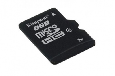 Card de memorie micro SDHC 8GB class 4, KINGSTON SDC4/8GBSP