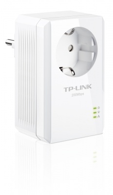 Adaptor Powerline Ethernet 200Mbps ultra compact, AC Passthrough, TP-Link TL-PA2010P