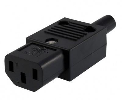 Conector de alimentare 230V/F IEC C13 mama