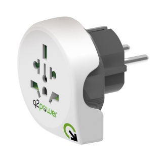 Adaptor World (EU, USA, UK) la Europa, Q2POWER 19.07.1570